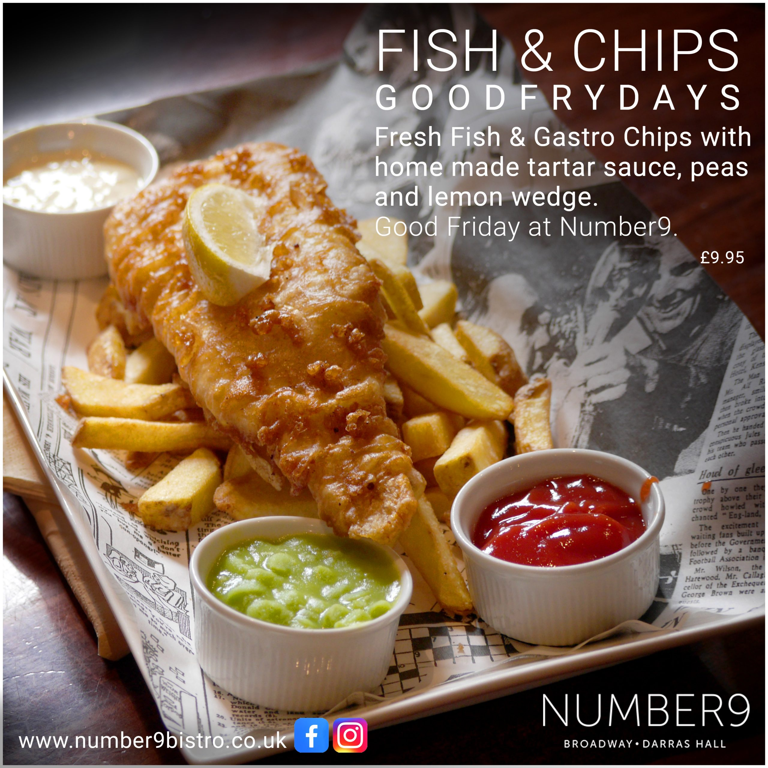 fish and chips Friday 2021